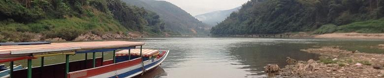 Boat Muang Khua to Muang Ngoy Neua Laos