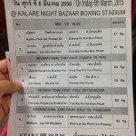 Muay Thai training Thailand