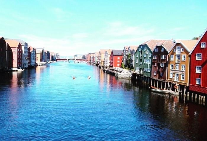 Cycling to Trondheim