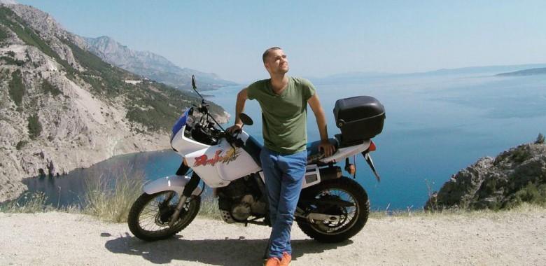 Тур на матацыклах па балканскіх дзяржавах