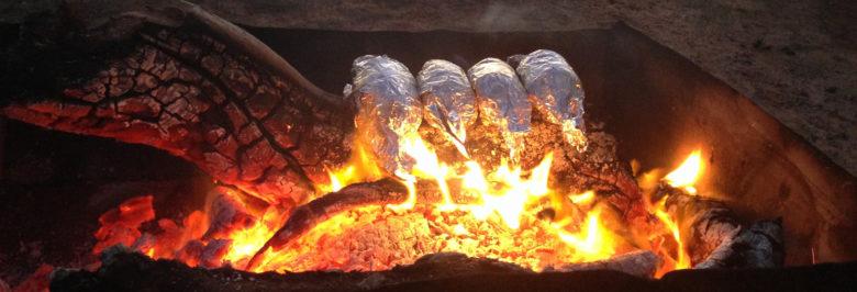 Cheap bonfire meals in Australia