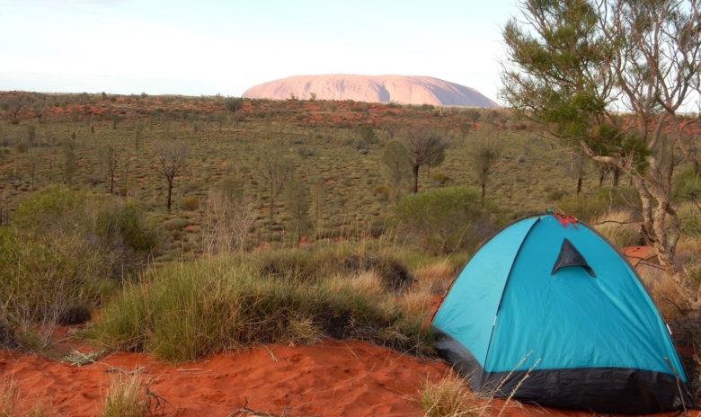 Free camping Uluru